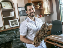 Ben Wilder, director of the Desert Laboratory, wants to create a public display of fossils, like t